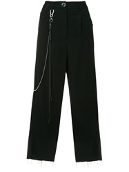 Song For The Mute Chain Detail Trousers Black