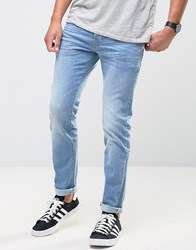 Firetrap Skinny Jeans In Light Wash Denim Blue
