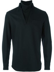 Emporio Armani Turtleneck Sweater Black