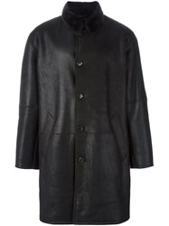 Liska Shearling Coat Black