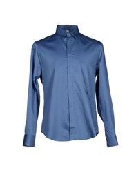 Gianfranco Ferre Gf Ferre' Shirts Shirts Men Pastel Blue