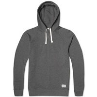 Norse Projects Ketel Hoody Charcoal Melange