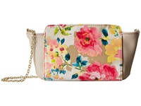 Jessica Mcclintock Floral Winged Crossbody Floral Cross Body Handbags Multi