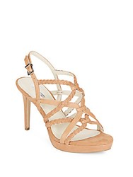 Bcbgeneration Emmi Leather And Suede Sandals Black
