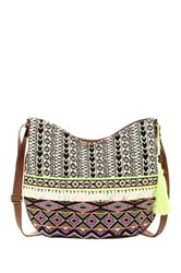 T Shirt And Jeans Festival Muse Hobo Bag Multi