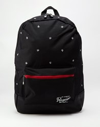 Original Penguin Backpack With All Over Print Black