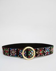 Asos Embroidered Belt Multi