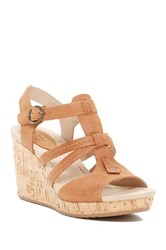Sperry Dawn Day Wedge Sandal Brown