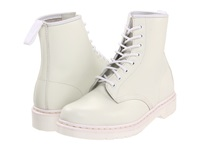 Dr. Martens 1460 8 Tie Boot White Smooth Lace Up Boots