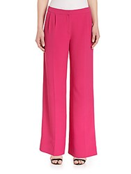Mary Katrantzou Wide Leg Trousers Fuschia