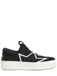 Bb Bruno Bordese Washed 30Mm Embroidered Stars Neoprene Sneakers