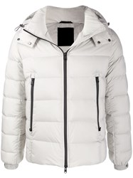 Tatras Hooded Padded Jacket Grey
