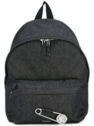 Versus Safety Pin Backpack Grey