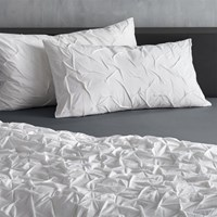 Cb2 Set Of Two White Melyssa King Shams