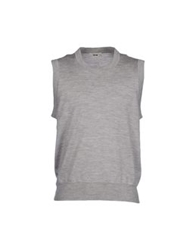 Acne Studios Sweater Vests Light Grey