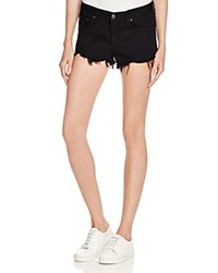 Rag And Bone Rag And Bone Jean Cutoff Denim Shorts In Black