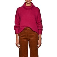 Icons Cashmere Turtleneck Sweater Pink