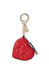 Karl Lagerfeld Heart Coin Purse Keychain