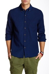 Vanishing Elephant Classic Long Sleeve Shirt Blue