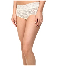 Wacoal Halo Lace Boy Short Ivory Women's Underwear White