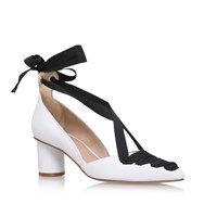 Kurt Geiger Mayfair High Heel Sandals White