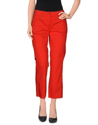 Caractere Aria Trousers 3 4 Length Trousers Women Red