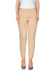 Elisabetta Franchi Trousers Casual Trousers Women Beige