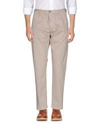 Care Label Casual Pants Beige