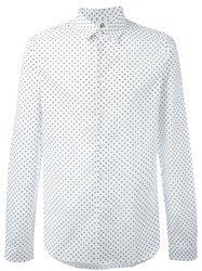 Paul Smith Ps By Polka Dot Shirt White