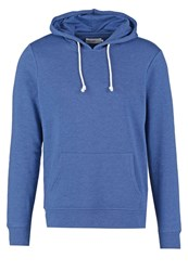 Pier One Hoodie Blue Melange Mottled Blue
