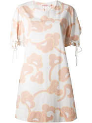 See By Chloe Floral Print Shift Dress White