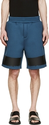 Kris Van Assche Ssense Exclusive Dark Teal Neoprene Shorts