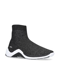 Kurt Geiger Linford Sock Sneakers Grey