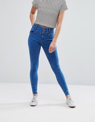 New Look Soft Skinny Jeans Bright Blue