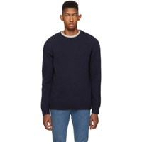 Harmony Navy Winston Sweater 010 Navy