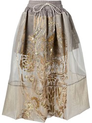 Vivienne Westwood Gold Label 'Nedda' Skirt White