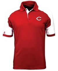 Antigua Men's Cincinnati Reds Century Polo Red White