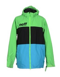Neff Jackets Acid Green