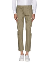 Gold Case By Rocco Fraioli Trousers Casual Trousers Men Military Green