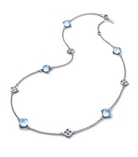 Baccarat Medicis Necklace Turquoise