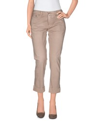 Jacob Cohen Jacob Coh N Trousers 3 4 Length Trousers Women Khaki