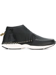 Buscemi Fringe Detail Sneakers Black