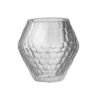 Day Birger Et Mikkelsen Honeycomb Handcut Glass Votive Clear 15X15cm