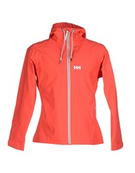 Helly Hansen Coats And Jackets Jackets Men Coral