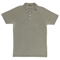 Denham Jeans Joey Raglan Sleeve Polo Shirt Legion Green