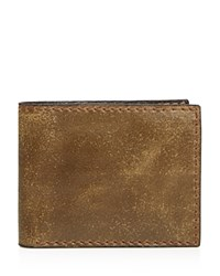 John Varvatos Star Usa Brooklyn Bifold Wallet Olive