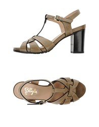F.Lli Bruglia Footwear Sandals Women Grey