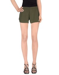 Macri Trousers Shorts Women Military Green