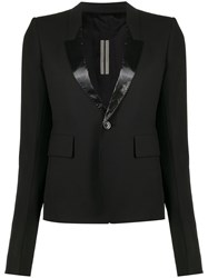 Rick Owens Single Breasted Fitted Blazer 60