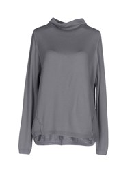 Brebis Noir Turtlenecks Grey